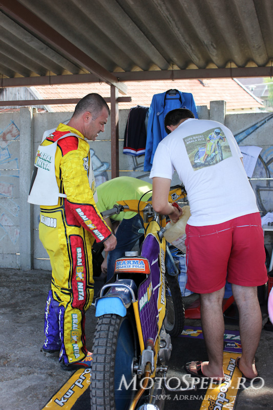 Detaliu foto - Gyula speedway race
