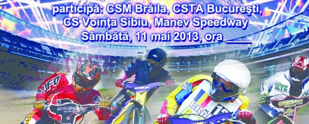 Pista stadionului municipal din Braila va gazdui in data de 11 mai, incepand cu ora 17, Cupa Romaniei la Speedway. Participa la eveniment binecunoscutele cluburi de speedway din Romania: CSM...